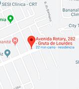 Mapa em Maceió